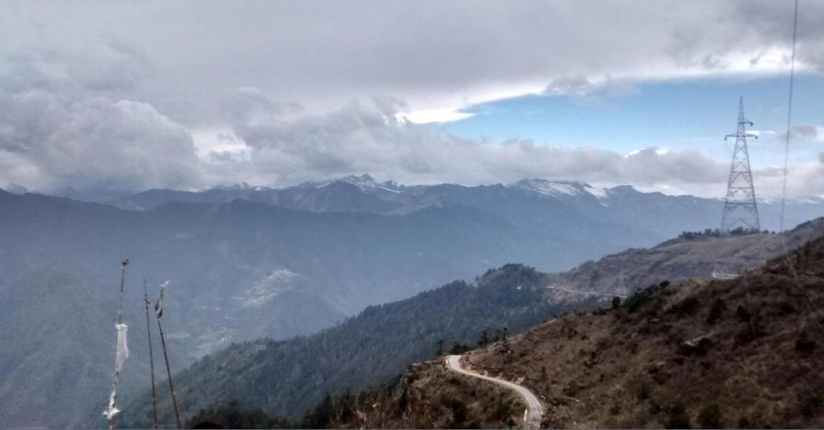 Road to Chelela Pass
